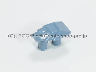 #47501 テクニック コネクター 1x2 段付ウェッジ【青灰】 /Technic Connector 1x2 with Two Pins :[Sand Blue]