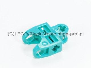 #32174 テクニック 軸コネクター 2x3 ボールソケット【ダークターコイズ】 /Ball Connector with Perpendicular :[Dark Turquoise]