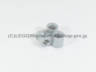 #32291 テクニック 軸/ピンコネクター 2x2 垂直ダブル【パールライトグレー】 /Technic Cross Block 2x2 :[Pearl Lt,Gray]