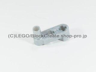 #33299 テクニック リフトアーム 1x3 クランク薄型【パールライトグレー】 /Technic Beam 3x0.5 Beam with :[Pearl Lt,Gray]