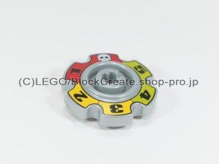 #57520 テクニック キャタピラ ホイール 25.4 プリント【パールライトグレー】 /Technic Sprocket Wheel 25.4 :[Pearl Lt,Gray]