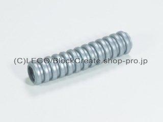 #22054 リブホース 32mm【ツヤ消銀】 /Corrugated Hose 3.2cm :[Flat Silver]