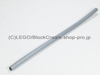 #60676 ハードホース 3mmDx12L 96mm【ツヤ消銀】 /Plastic Hose 9.6cm :[Flat Silver]