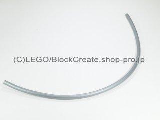 #56418 ハードホース  184mm【ツヤ消銀】 /Plastic Hose 18.4cm :[Flat Silver]