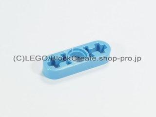 #6632 テクニック リフトアーム 1x3 薄型【ミディアムブルー】 /Beam 3x0.5 with Axle Hole each end :[Md,Blue]