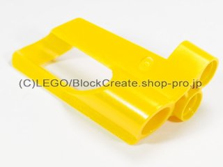 #32527 テクニック パネル #5 ラージホール【黄色】 /3D Panel 5 :[Yellow]