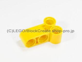 #32557 テクニック ピンコネクター 垂直ロング【黄色】 /Technic Cross Block 2x3 :[Yellow]