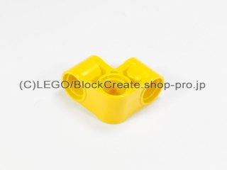 #44809 テクニック ピンコネクター 2x2 ベント【黄色】 /Technic Cross Block 2x2 Bent 90 :[Yellow]