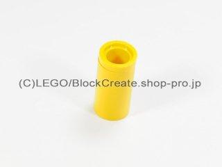 #75535 テクニック ピンコネクター ピンつなぎ【黄色】 /Round Pin Joiner without Slot :[Yellow]