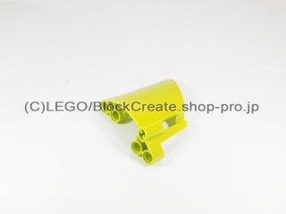#44352 テクニック パネル #22 スモールホール【黄緑】 /3D Panel 22 :[Lime]