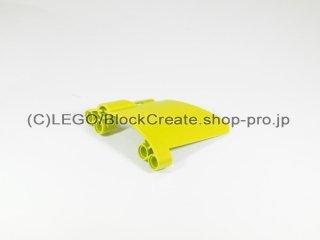 #44353 テクニック パネル #23 スモールホール【黄緑】 /3D Panel 23 :[Lime]
