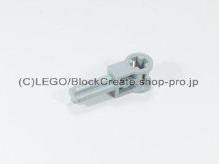 #6553 テクニック ポール 逆転ハンドル【旧灰】 /Axle 1.5 with Perpendicular Axle Connector :[Gray]
