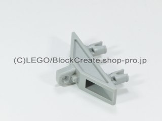 #277 ヒンジ 三角形 1x4 ピン  【旧灰】 /Hinge Triangle 1x4 with Pins :[Gray]