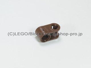 #6536 テクニック 軸/ピンコネクター 1x2 垂直【旧茶】 /Cross Block 90°1x2 :[Brown]