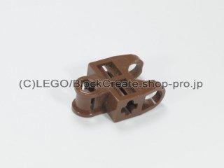 #32174 テクニック 軸コネクター 2x3 ボールソケット【旧茶】 /Ball Connector with Perpendicular Axelholes :[Brown]
