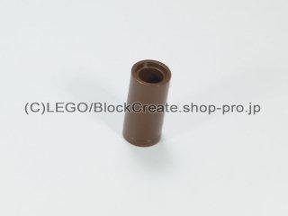 #75535 テクニック ピンコネクター ピンつなぎ【旧茶】 /Round Pin Joiner without Slot :[Brown]