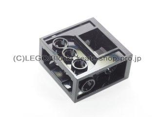 #6588 テクニック ギア ボックス 2x4x3 1/3【黒】 /Gearbox for Worm Gear :[Black]
