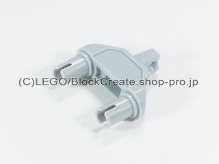 #47973 テクニック コネクター 3x1x3 ヒンジ ピン【新灰】 /Technic Connector 3x1x3 with Two Pins :[Light Bluish Gray]