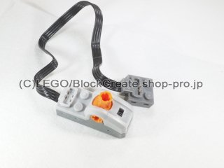 #61929 電源機能 制御スイッチ 【新灰】 /Power Functions Control Switch :[Light Bluish Gray]