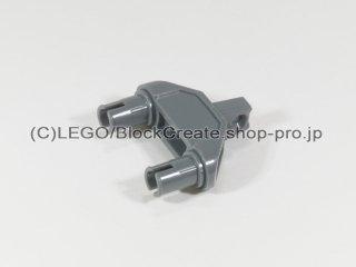 #47973 テクニック コネクター 3x1x3 ヒンジ ピン【新濃灰】 /Technic Connector 3x1x3 with Two Pins :[Dark Bluish Gray]