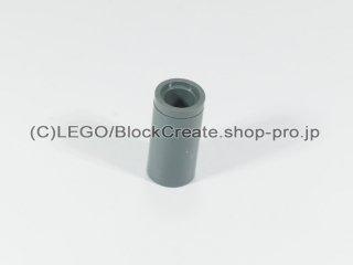 #75535 テクニック ピンコネクター ピンつなぎ【新濃灰】 /Round Pin Joiner without Slot :[Dark Bluish Gray]