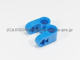 #41678 テクニック 軸/ピンコネクター 2x2 垂直ダブル【青】 /Technic Cross Block 2x2 Split :[Blue]