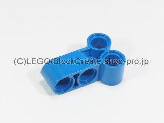 #32557 テクニック ピンコネクター 垂直ロング【青】 /Technic Cross Block 2x3 :[Blue]