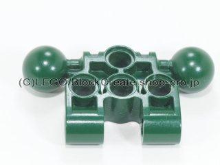 #47330 バイオニクルコネクター 3x3x1 ボールジョイント【濃緑】 /Technic Connector Block 3x3x1 :[Dark Green]