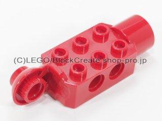 #47432 テクニック ブロック 2x3  ソケット 【赤】 /Technic Brick 2x3 w/ Holes, Click Rot.:[Red]