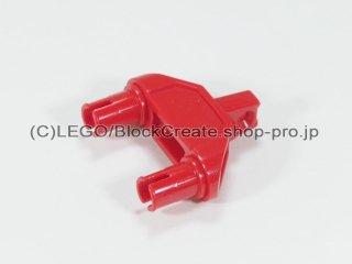 #47973 テクニック コネクター 3x1x3 ヒンジ ピン【赤】 /Technic Connector 3x1x3 with Two Pins :[Red]