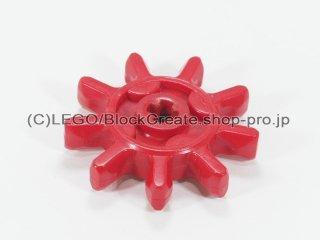 テクニック ギア 9歯【赤】 /Gear with 9 Teeth :[Red]