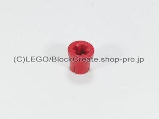 #1299 テクニック ブッシュ フランジ 軸穴【赤】 /Bushing with Flange and Axlehole :[Red]