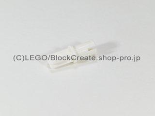 #3749 テクニック 軸 コネクターペグ【白】 /Axle to Pin Connector :[White]