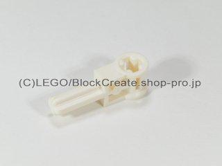 #6553 テクニック ポール 逆転ハンドル【白】 /Axle 1.5 with Perpendicular Axle Connector :[White]