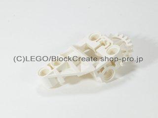 #32166 テクニック コネクタ ハーフギアボックス 【白】 /Block Connector with One Half of Wormed Gearbox :[White]