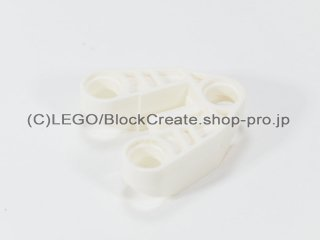 #32175 テクニック コネクタ 3x3 三角【白】 /Technic Connector Block 3x3 Triangular :[White]