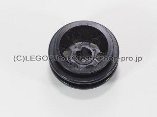 #2994 ホイール 12mm x 20mm 6ペグ穴  【黒】 /Wheel 12x20 with Technic Axle Hole and 6 Pegholes :【Black】