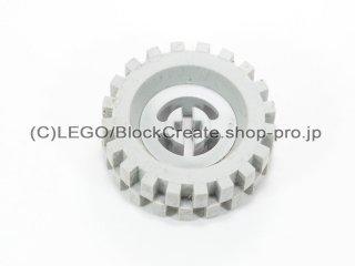 #3482/2346 ホイール ハブ 8x17.5 軸穴 (タイヤ付)  【旧灰】 /Wheel Hub 8x17.5 with Axlehole :【Gray】