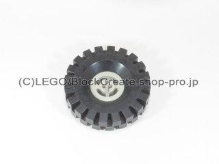#3482/3634 ホイール ハブ 8x17.5 軸穴 (タイヤ付)  【旧灰】 /Wheel Hub 8x17.5 with Axlehole :【Gray】