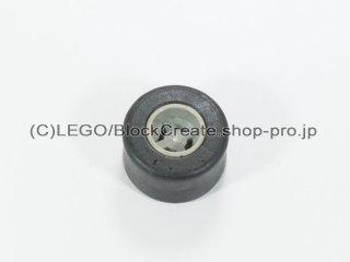 #30027a/30028 ホイール 8x9 ラウンド (タイヤ付)  【旧灰】 /Wheel Rim 8mmx9mm Round Hole :【Gray】