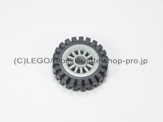 #30155/3483 ホイール センタースポーク小 (タイヤ付)  【旧灰】 /Wheel Centre Spoked Small :【Gray】