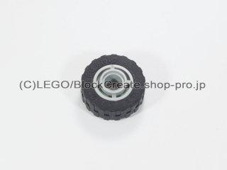 #42610/51011 ホイール ハブ 11.2x8 溝 (タイヤ付)  【旧灰】 /Wheel Hub 11.2x8 with Centre Groove :【Gray】