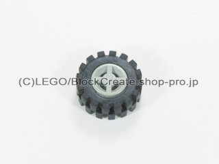 #73420 ホイール 8x6.4 (タイヤ付)  【旧灰】 /Wheel Rim 8x6.4 Assembly :【Gray】
