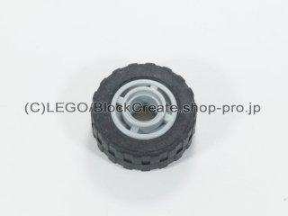 #42610/51011 ホイール ハブ 11.2x8 溝 (タイヤ付)  【新灰】 /Wheel Hub 11.2x8 with Centre Groove :【Light Bluish Gray】