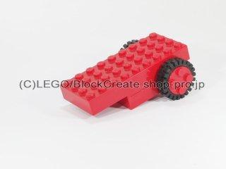 #2574 ホイールプルバックモーター 【赤】 /Wheel Pull-Back Motor :[Red]