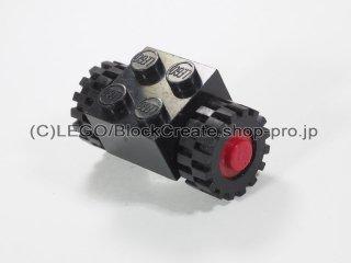 #3137 ブロック 2x2 ホイールホルダー (タイヤ付)【黒】 /Brick 2x2 with Wheels Holder Assembly (Closed Loops) :[Black]