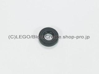#3139 タイヤ 14x4 oldスタイル 【黒】 /Tire 14mmx4mm Smooth Old Style :[Black]