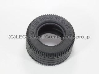 #6594 タイヤ 49.6x28 VR 【黒】 /Tyre 49.6x28 VR :[Black]