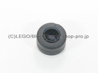 #30027b/30028 ホイール 8x9 ノッチ (タイヤ付)  【黒】 /Wheel Rim 8mmx9mm Notched Hole :【Black】