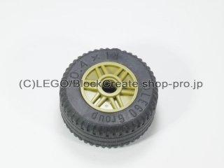 #55981/58090 ホイール 18x14 (タイヤ付) 【オリーブグリーン】 /Wheel Rim 18x14 with Pin Hole :[Olive Green]